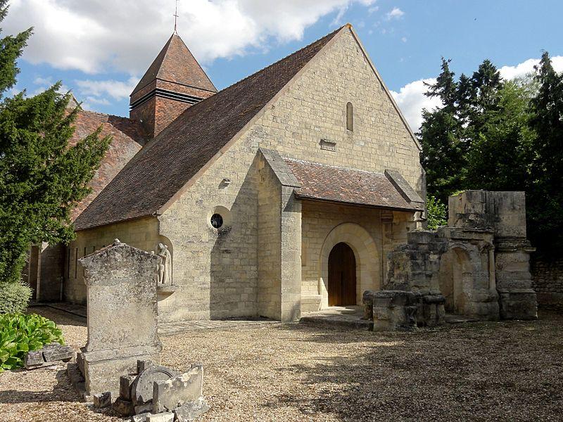 Photo du Monument Historique Eglise situé à Moussy