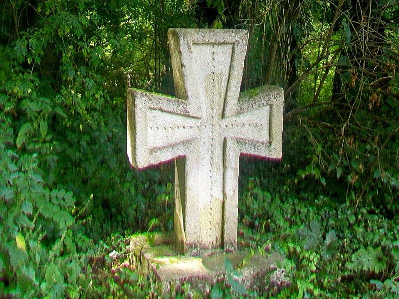 Photo du Monument Historique Croix romane situé à Nesles-la-Vallée