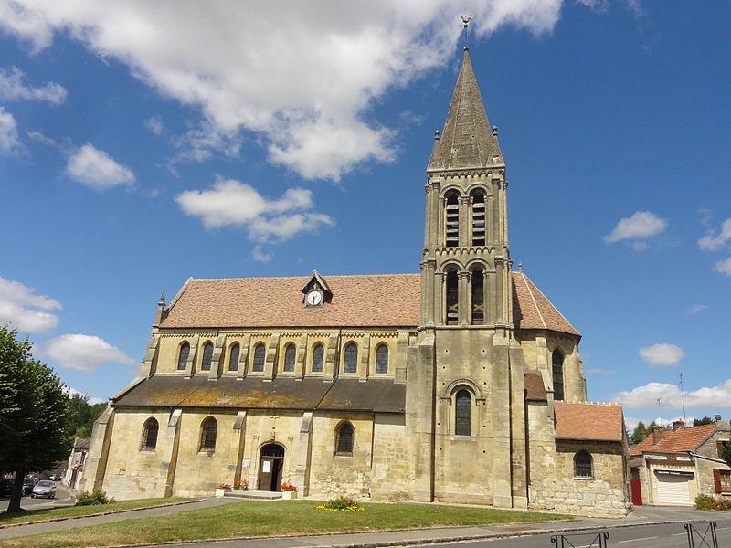 Photo du Monument Historique Eglise Saint-Symphorien situé à Nesles-la-Vallée