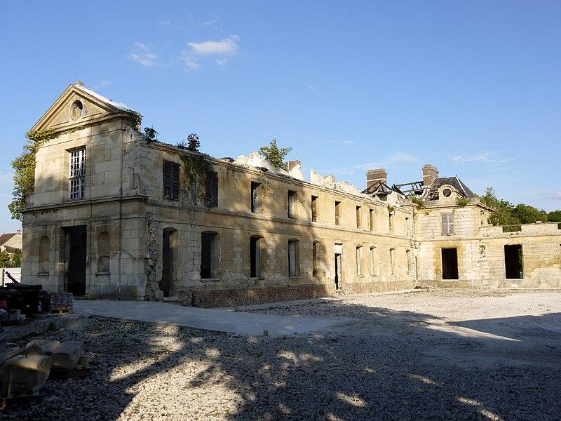 Photo du Monument Historique Château situé à Neuville-sur-Oise