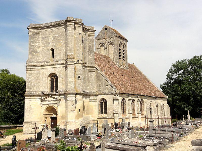 Photo du Monument Historique Eglise situé à Nucourt