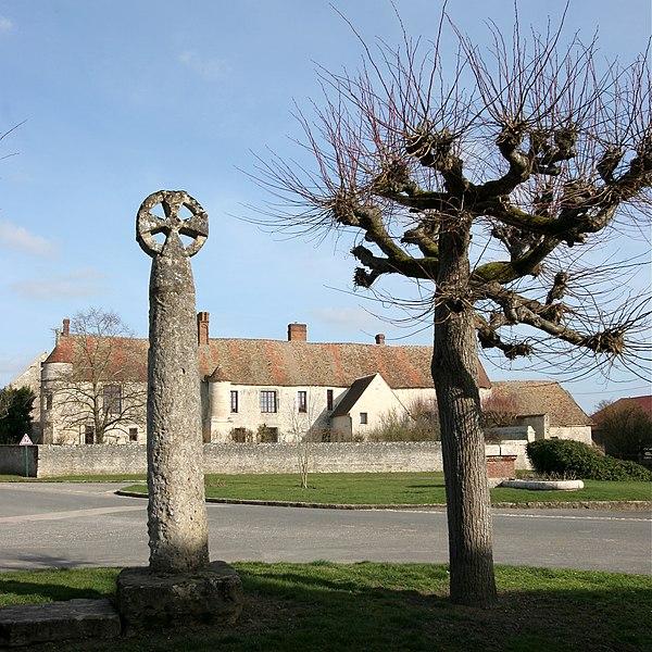 Photo du Monument Historique Croix situé à Omerville