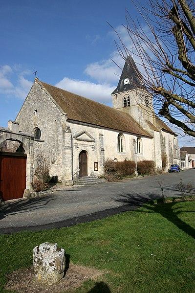 Photo du Monument Historique Eglise Saint-Martin situé à Omerville