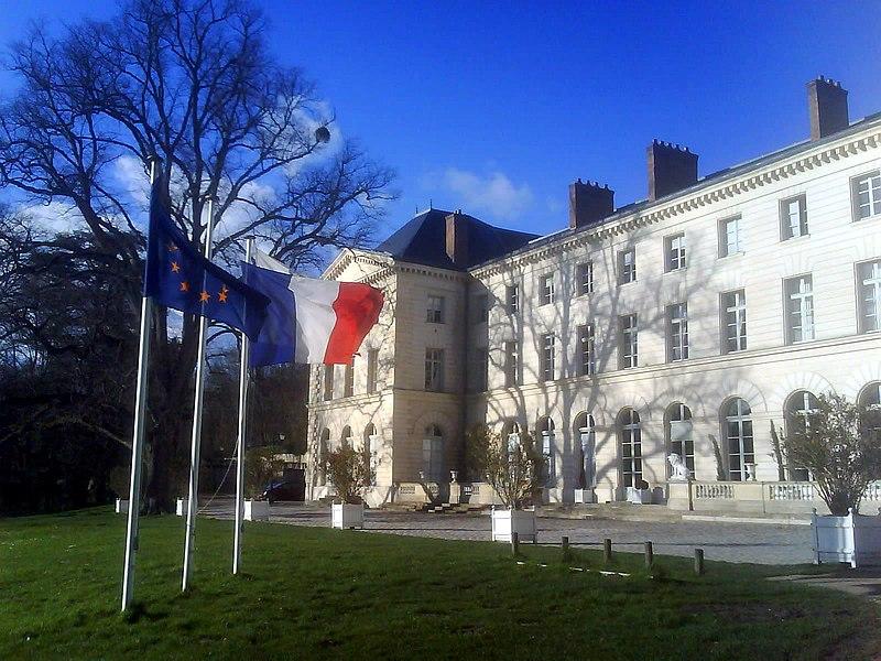 Photo du Monument Historique Domaine de Grouchy, actuellement Hôtel de ville situé à Osny
