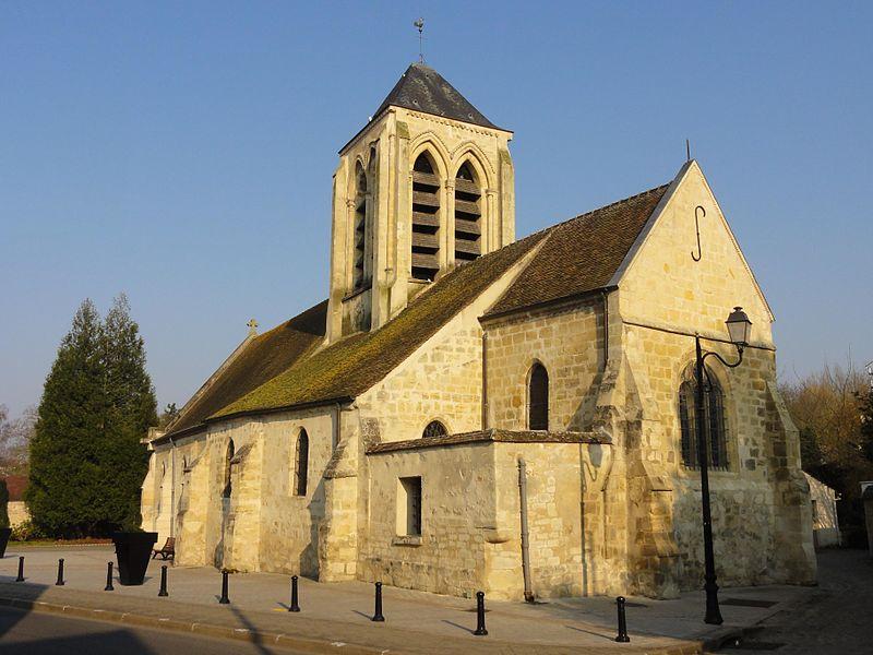 Photo du Monument Historique Eglise Saint-Pierre-aux-Liens situé à Osny