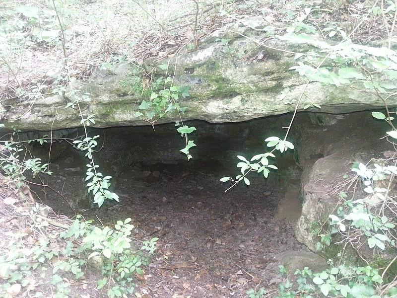 Photo du Monument Historique Hypogée à vestibule néolithique dit le Trou à morts situé à Parmain
