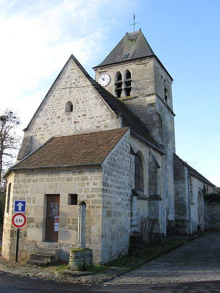 Photo du Monument Historique Eglise Sainte-Marie-Madeleine situé à Perchay (Le)