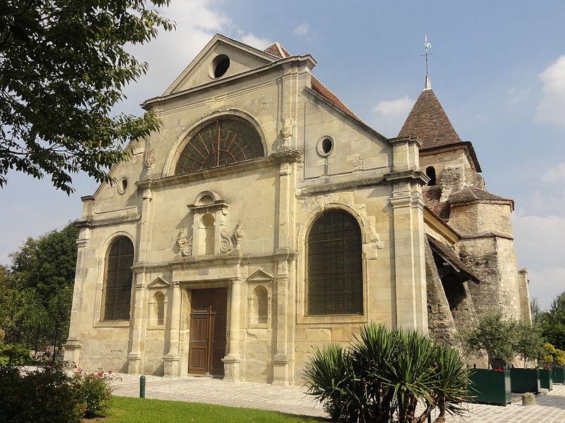 Photo du Monument Historique Eglise Notre-Dame situé à Plessis-Gassot (Le)