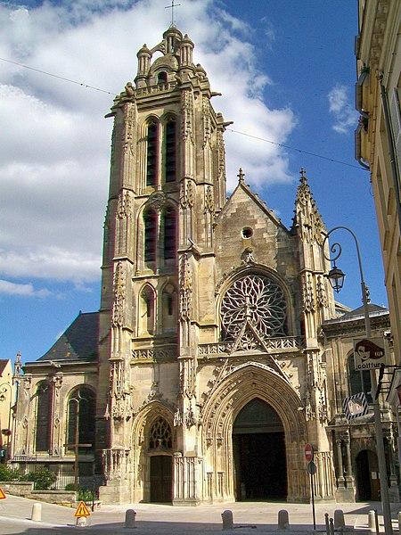Photo du Monument Historique Cathédrale Saint-Maclou situé à Pontoise