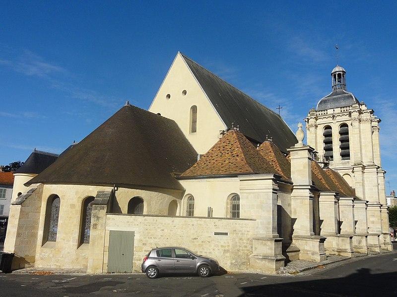 Photo du Monument Historique Eglise Notre-Dame situé à Pontoise