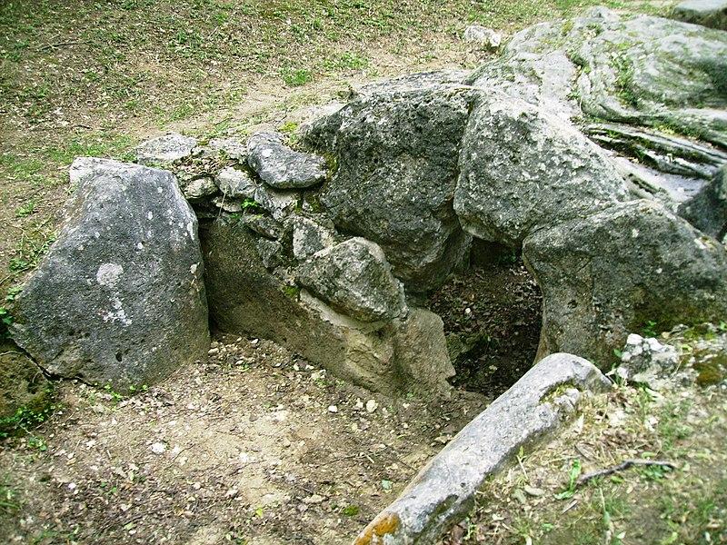 Photo du Monument Historique Dolmen de la Pierre-Plate situé dans la forêt de l'Isle-Adam situé à Presles