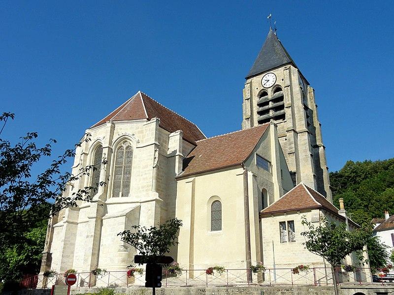Photo du Monument Historique Eglise Saint-Germain situé à Presles