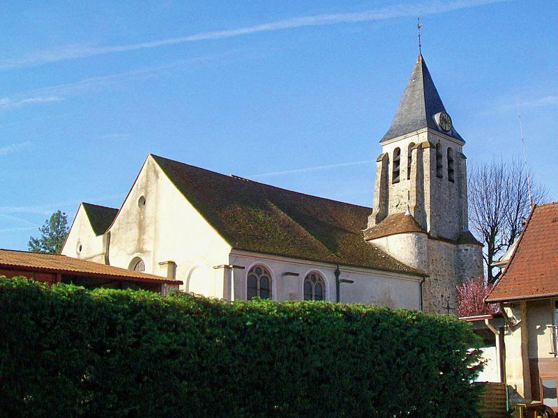 Photo du Monument Historique Eglise Sainte-Geneviève situé à Puiseux-en-France