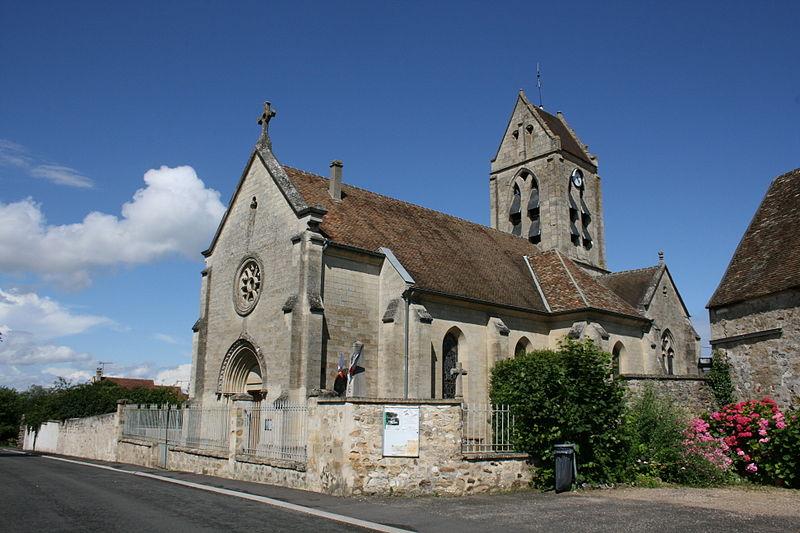 Photo du Monument Historique Eglise Saint-Pierre situé à Puiseux-Pontoise