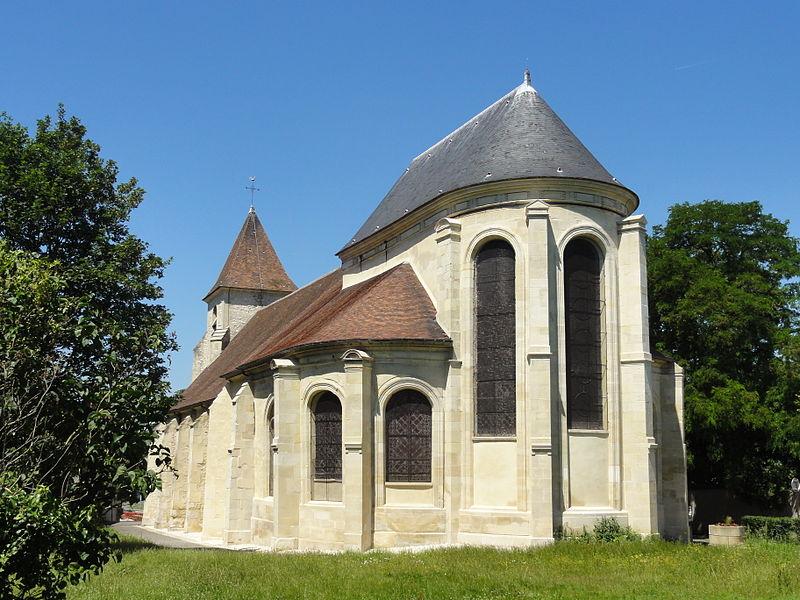 Photo du Monument Historique Eglise situé à Roissy-en-France