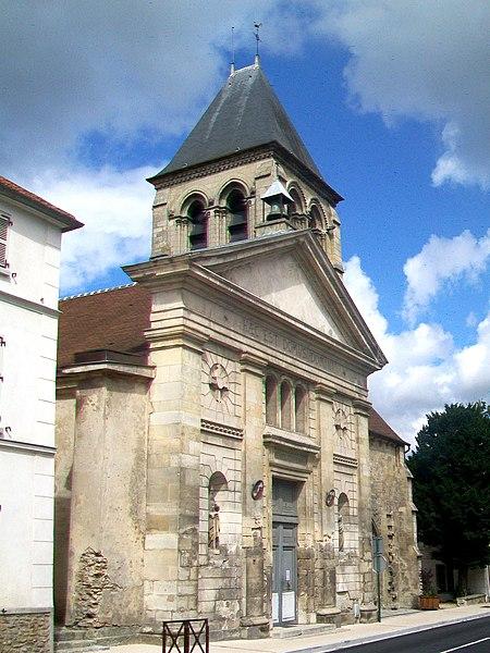 Photo du Monument Historique Eglise situé à Saint-Brice-sous-Forêt
