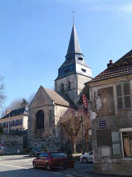 Photo du Monument Historique Eglise Saint-Clair situé à Saint-Clair-sur-Epte