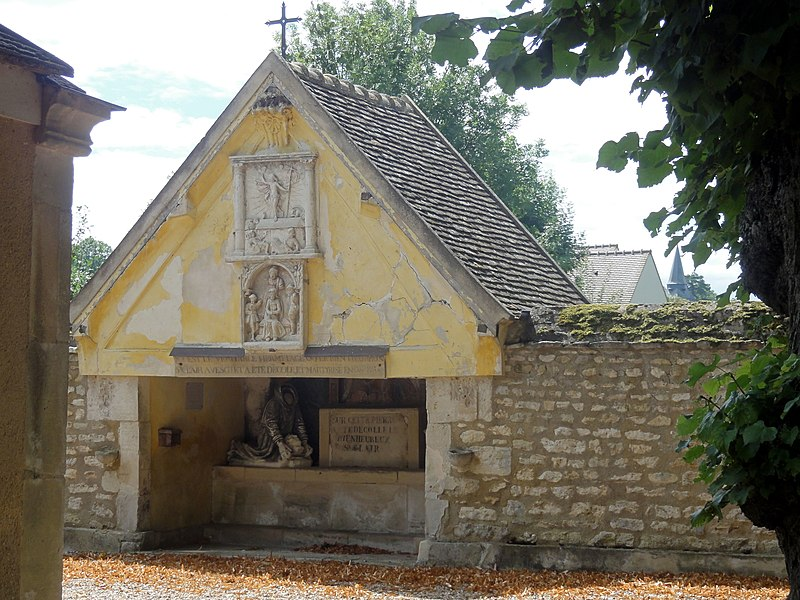 Photo du Monument Historique Ermitage de Saint-Clair situé à Saint-Clair-sur-Epte