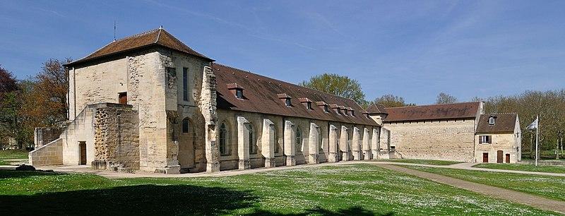 Photo du Monument Historique Ancienne abbaye de Maubuisson situé à Saint-Ouen-l'Aumône