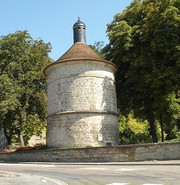 Photo du Monument Historique Colombier situé à Saint-Ouen-l'Aumône