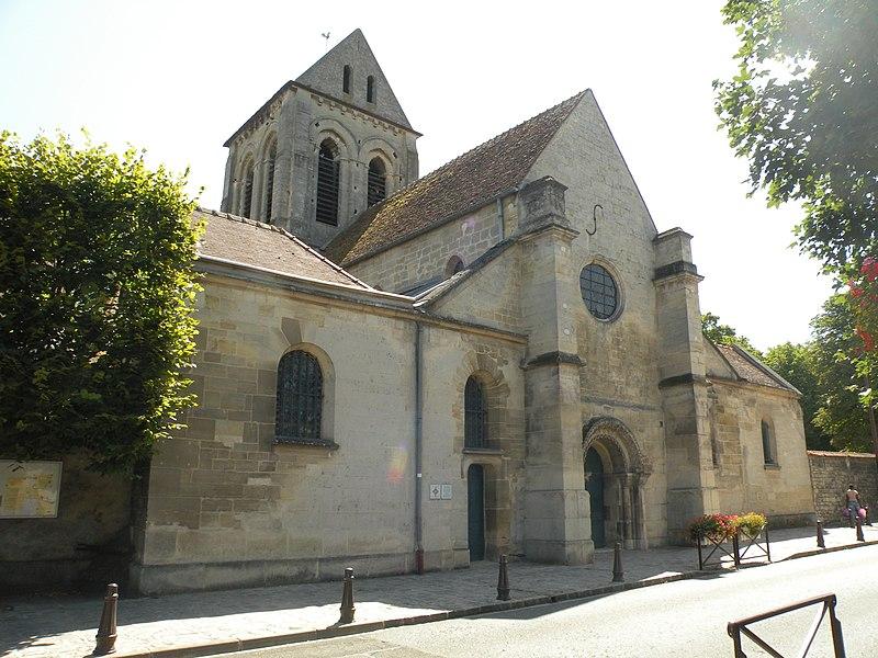 Photo du Monument Historique Eglise situé à Saint-Ouen-l'Aumône