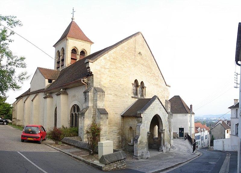 Photo du Monument Historique Eglise Saint-Prix, dite autrefois église Saint-Germain situé à Saint-Prix