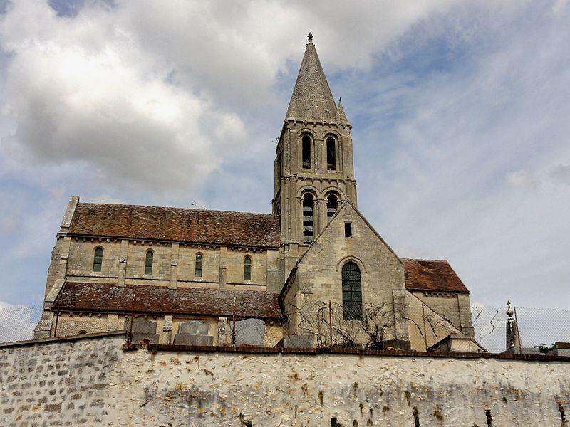 Photo du Monument Historique Eglise situé à Santeuil