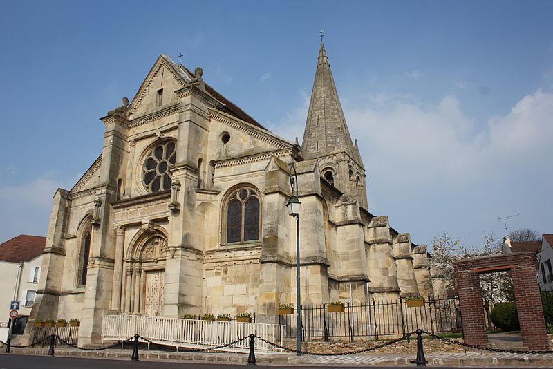 Photo du Monument Historique Eglise Saint-Pierre Saint-Paul situé à Sarcelles