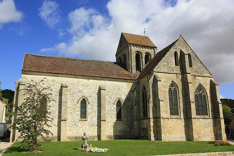 Photo du Monument Historique Eglise situé à Seraincourt