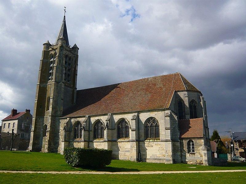 Photo du Monument Historique Eglise situé à Survilliers