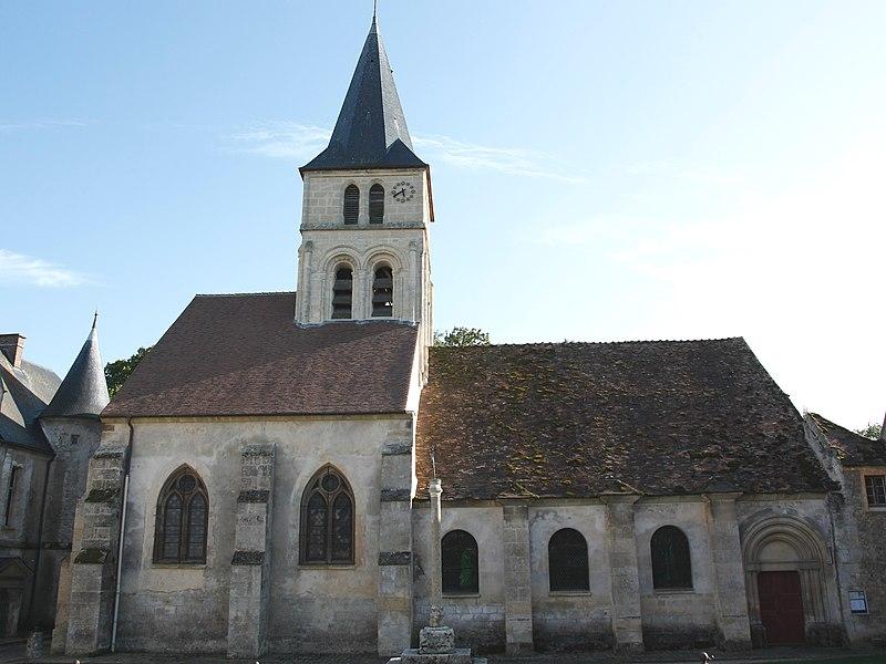 Photo du Monument Historique Eglise Notre-Dame situé à Théméricourt