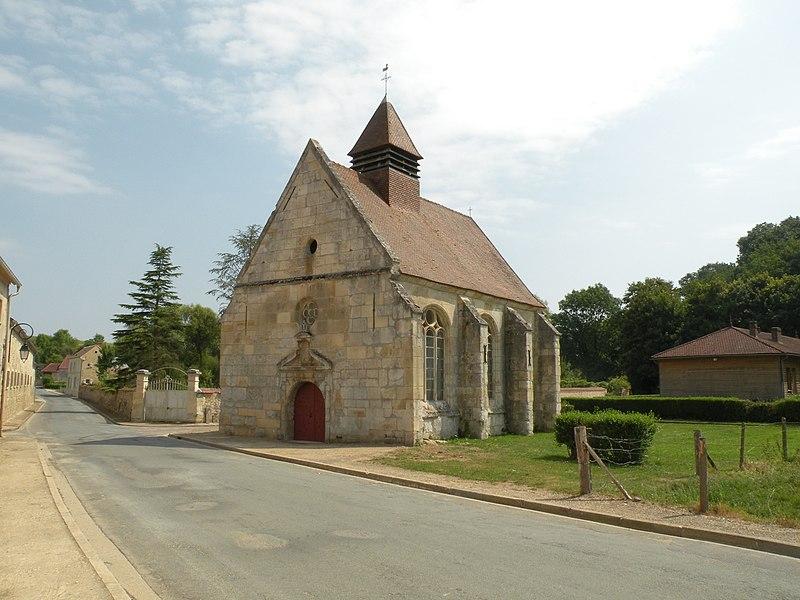 Photo du Monument Historique Chapelle du 16s situé à Theuville