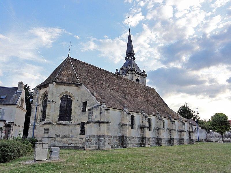 Photo du Monument Historique Eglise situé à Le Thillay