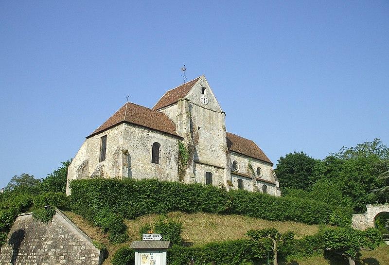 Photo du Monument Historique Eglise situé à Vallangoujard