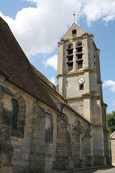Photo du Monument Historique Eglise situé à Vauréal