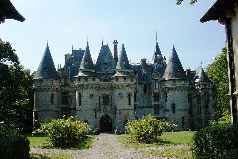 Photo du Monument Historique Domaine situé à Vigny