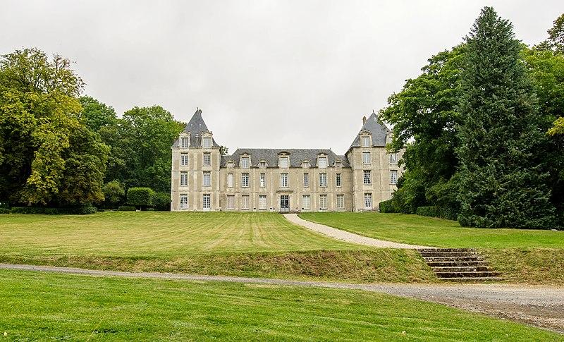 Photo du Monument Historique Château situé à Villers-en-Arthies