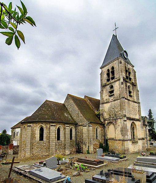 Photo du Monument Historique Eglise situé à Villers-en-Arthies