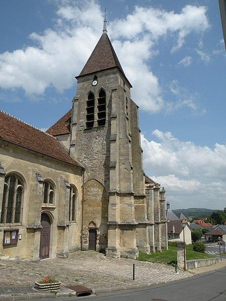Photo du Monument Historique Eglise Saint-Sulpice situé à Villiers-Adam