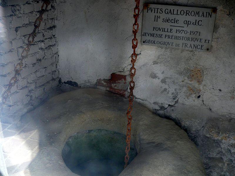 Photo du Monument Historique Puits gallo-romain situé à Villiers-le-Bel