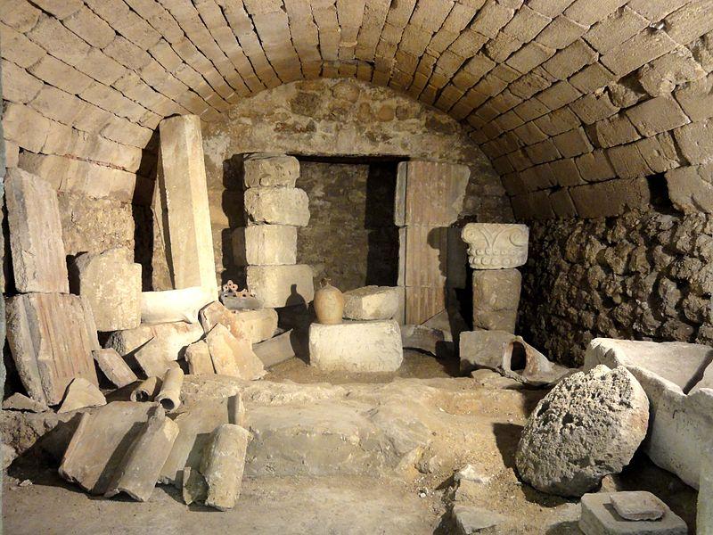 Photo du Monument Historique Hypocauste situé à Wy-dit-Joli-Village
