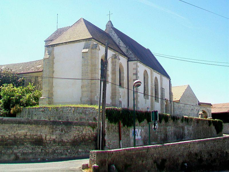 Photo du Monument Historique Eglise Saint-Nicolas situé à La Chapelle-en-Vexin