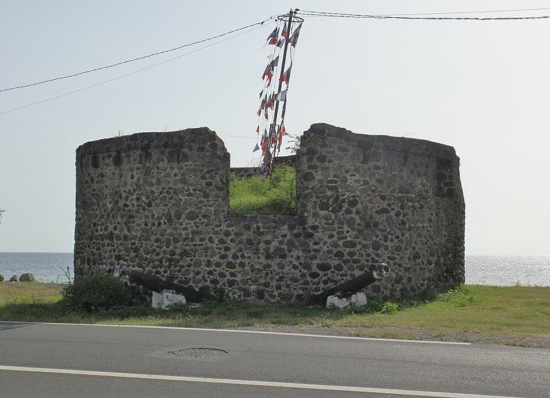 Photo du Monument Historique Tour dite Tour du Père-Labat situé à Baillif