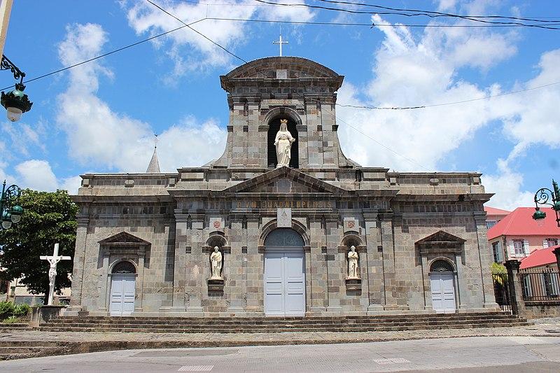 Photo du Monument Historique Cathédrale Notre-Dame de Guadeloupe, ancienne église Saint-François situé à Basse-Terre