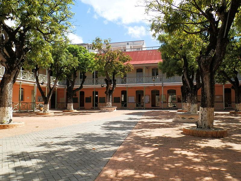 Photo du Monument Historique Lycée Gerville-Réache situé à Basse-Terre