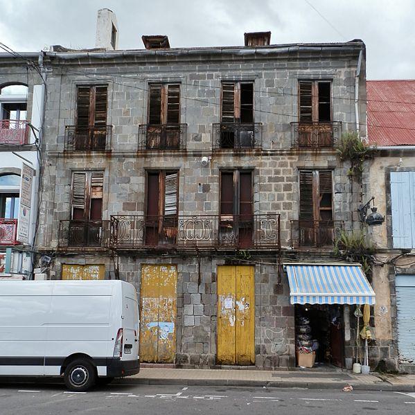Photo du Monument Historique Maison Chapp situé à Basse-Terre