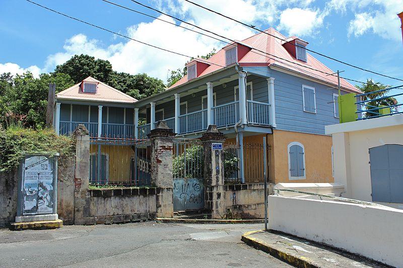 Photo du Monument Historique Maison Coquille ou maison Turlet situé à Basse-Terre
