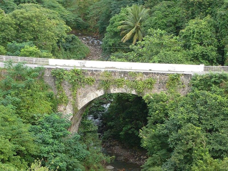 Photo du Monument Historique Pont sur le Galion situé à Basse-Terre