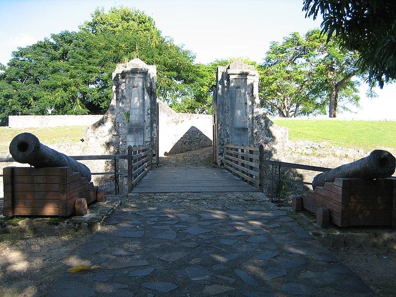 Photo du Monument Historique Fort Fleur-d'Epée situé à Le Gosier