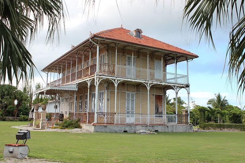 Photo du Monument Historique Habitation Zevallos situé à Le Moule